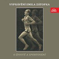 Přední strana obalu CD Vyprávění Emila Zátopka o životě a sportování