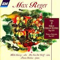 Keith Harvey, Ivo Van Der Werff, Simon Marlow – Reger: The 3 Cello Suites Op.131c; Viola Sonata Op.107