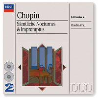 Claudio Arrau – Chopin: The Complete Nocturnes/The Complete Impromptus [2 CDs] – CD