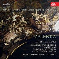 Přední strana obalu CD Zelenka: Missa Nativitatis Domini, Magnificat. Hudba Prahy 18. století