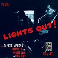 Přední strana obalu CD Lights Out!