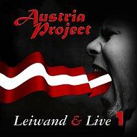 Přední strana obalu CD Leiwand & Live 1 (Live)