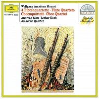 Amadeus Quartet – Mozart: 4 Flute Quartets; Oboe Quartet