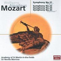 Přední strana obalu CD Mozart: Symphonies Nos.31,32,34 & 35
