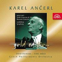 Přední strana obalu CD Ančerl Gold Edition 18. Mozart: Koncerty - Voříšek: Symfonie D dur