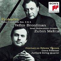 Yefim Bronfman, Israel Philharmonic Orchestra, Zubin Mehta – Piano Concertos 2 & 4; Overture on Hebrew Themes