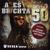 Přední strana obalu CD 50 - Tesla Arena - True Live