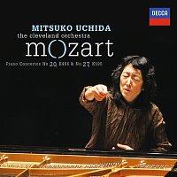 Přední strana obalu CD Mozart: Piano Concertos No.20 in D minor, K.466 & No.27 in B flat, K.595