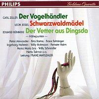 Rita Bartos, Franz Fehringer, Ingeborg Hallstein, Herta Talmar, Willi Hofmann – Der Vogelhandler - Schwarzwaldmadel - Der Vetter aus Dingsda