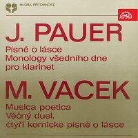 Pauer, Vacek: Písně o lásce, Monology všedního dne - Musica poetica, Věčný duel