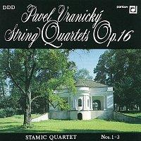 Stamicovo kvarteto – Vranický: Smyčcové kvartety Nos. 1-3, op. 16