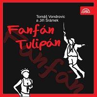 Přední strana obalu CD Šrámek, Vondrovic: Fanfán Tulipán