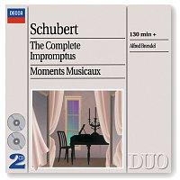 Přední strana obalu CD Schubert: The Complete Impromptus/Moments Musicaux