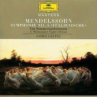 """Berliner Philharmoniker, James Levine – Mendelssohn: Symphony No.4 """"Italian""""; A Midsummer Night's Dream"""