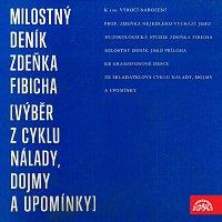 Přední strana obalu CD Milostný deník Zdeňka Fibicha (výběr z cyklu Nálady, dojmy a upomínky)