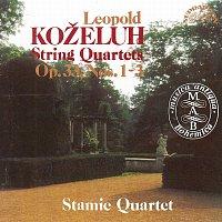 Stamicovo kvarteto – Koželuh: Smyčcové kvartety 1-3, op. 33