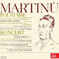 Česká filharmonie/Václav Neumann – Martinů: Polní mše. Kantáta, Koncert pro housle a orchestr č. 1 - Live