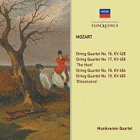 Musikverein Quartet, Rainer Kuchl, Peter Wachter, Peter Gotzel – Mozart: String Quartets KV 428, 458, 464, 465