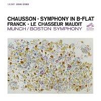 Charles Munch, César Franck, Boston Symphony Orchestra – Chausson: Symphony in B-Flat Major, Op. 20 - Franck: Le Chasseur maudit, FWV 44