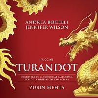 Přední strana obalu CD Puccini: Turandot