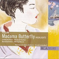 Přední strana obalu CD Basic Opera Highlights-Puccini:Madama Butterfly