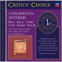 The Academy of Ancient Music, Choir of New College, Oxford, Edward Higginbottom – Coronation Anthems