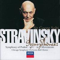 Chicago Symphony Chorus, Chicago Symphony Orchestra, Sir Georg Solti – Stravinsky: Symphony in C/Symphony in 3 Movements/Symphonie de Psaumes