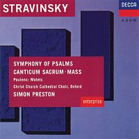 Choir of Christ Church Cathedral, Oxford, The Philip Jones Brass Ensemble – Stravinsky: Symphony of Psalms; Mass / Poulenc: Easter Motets