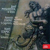Různí interpreti – Mysliveček, Stamic,A., Stamic,K.: Čtyři tria , 3 Caprices, Triová sonáta