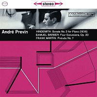 André Previn, Paul Hindemith – Hindemith: Piano Sonata No. 3 in B-Flat Major, IPH 115, Barber: Four Excursions, Op. 20 & Martin: Prelude No. 7