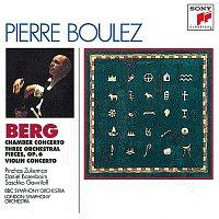 Pierre Boulez, Alban Berg, Daniel Barenboim, BBC Symphony Orchestra, Saschko Gawriloff – Berg: Chamber Concerto; Three Pieces for Orch.; Concerto for Violin and Orchestra