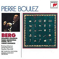 Pierre Boulez – Berg: Chamber Concerto; Three Pieces for Orch.; Concerto for Violin and Orchestra