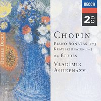 Vladimír Ashkenazy – Chopin: Piano Sonatas Nos. 1 - 3; 24 Etudes; Fantaisie in F minor [2 CDs] – CD