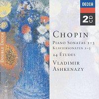 Chopin: Piano Sonatas Nos. 1 - 3; 24 Etudes; Fantaisie in F minor