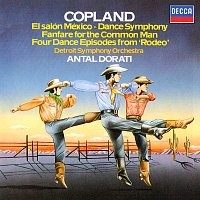 Antal Dorati, Detroit Symphony Orchestra – Copland: El Salón Mexicó; Dance Symphony; Rodeo; Fanfare for the Common Man