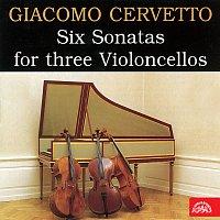 Přední strana obalu CD Cervetto: 6 sonát pro tři violoncella