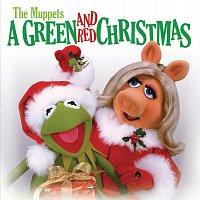Přední strana obalu CD The Muppets: A Green and Red Christmas