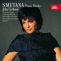 Přední strana obalu CD Smetana: Klavírní dílo 4 (Tři salonní polky, Lístky do památníku, Tři charakteristické kusy, Črty)