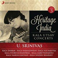 U. Srinivas – Heritage India (Kala Utsav Concerts, Vol. 3) [Live]