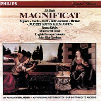 "Emma Kirkby, Nancy Argenta, Patrizia Kwella, Charles Brett, Anthony Rolfe Johnson – Bach, J.S.: Magnificat/Cantata No.51 ""Jauchzet Gott"""