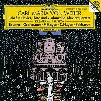 Gidon Kremer, Irena Grafenauer, Veronika Hagen, Vadim Sacharow, Clemens Hagen – Weber: Piano Trio Op. 63; Piano Quartet Op. 8