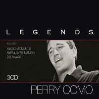 Přední strana obalu CD Legends - Perry Como