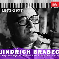Přední strana obalu CD Nejvýznamnější skladatelé české populární hudby Jindřich Brabec 2. (1973 - 1977)