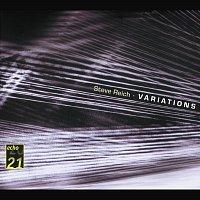 Přední strana obalu CD Reich: Variations; Music for Mallet Instruments; 6 Pianos