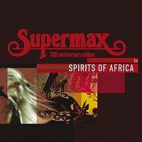 Přední strana obalu CD Spirits Of Africa