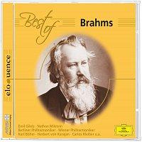 Přední strana obalu CD Best of Brahms