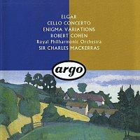 Robert Cohen, Royal Philharmonic Orchestra, Sir Charles Mackerras – Elgar: Cello Concerto; Enigma Variations; Froissart