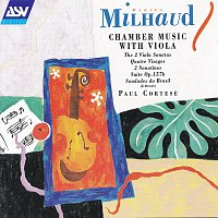 Přední strana obalu CD Milhaud: Chamber Music With Viola