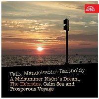 Symfonický orchestr hl. m. Prahy FOK, Václav Smetáček – Mendelssohn-Bartholdy: Sen noci svatojánské, Hebridy, Klid moře a šťastná plavba