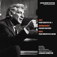 Leonard Bernstein, Sergei Rachmaninoff, Gary Graffman, New York Philharmonic Orchestra – Liszt: Piano Concerto No. 1 in E-Flat Major, S. 124 - Rachmaninoff: Rhapsody on a Theme by Paganini, Op. 43 - Ravel: Piano Concerto in G Major, M. 83